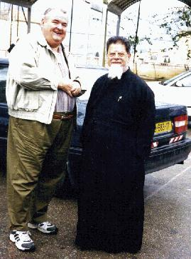 Fr. Elias Chacour and Bishop Edwards